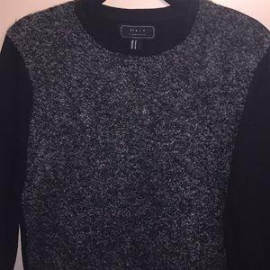 Men's wool front sweatshirt!